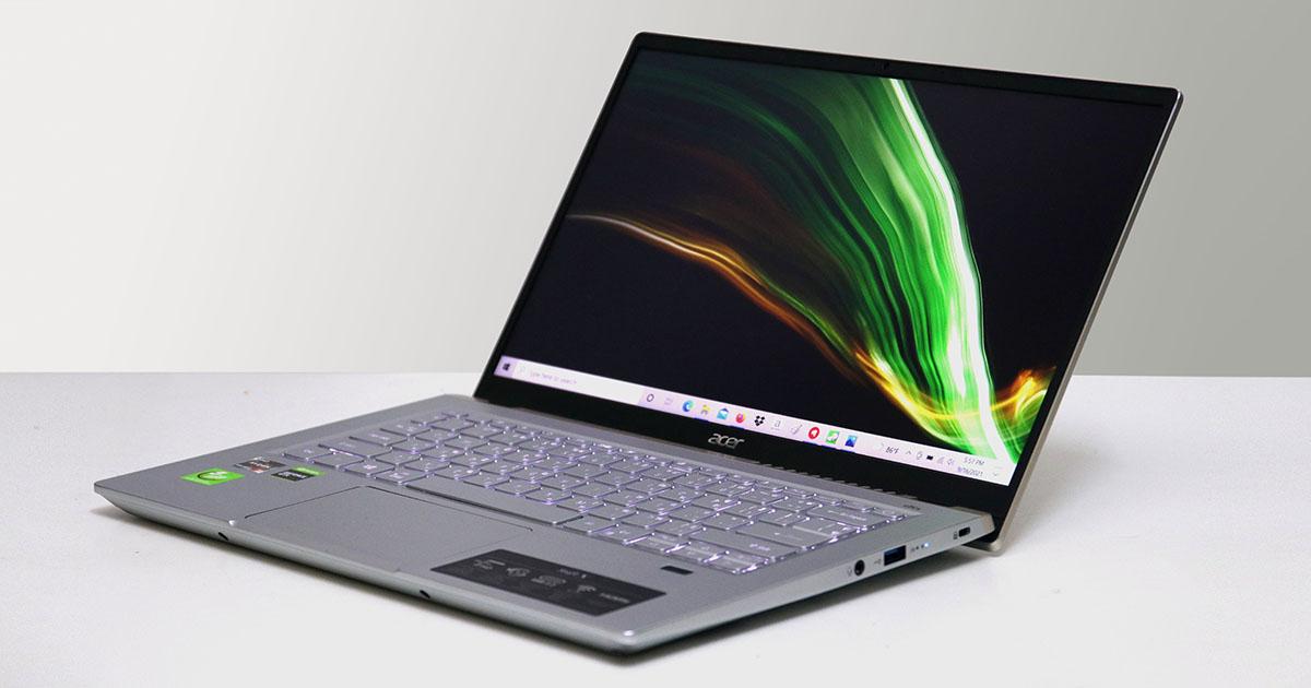 Acer Swift X : ก้าวไปยิ่งกว่าแค่บางเบา